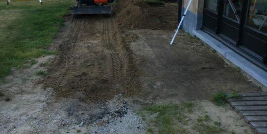 Terras Uitgraven